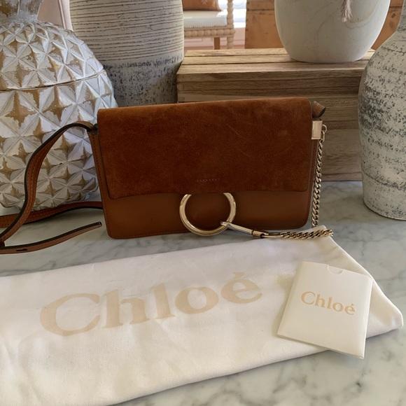 Chloe Handbags - Authentic Chloe Faye small crossbody bag.